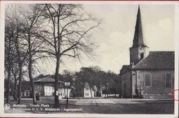 Moerzeke Hamme De Groote Plaats Retraitenhuis OLV Middelares Ingangspoort (mini Scheurtje) - Hamme