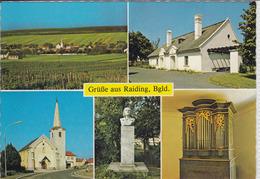 RAIDING - Mehrfachansicht Mit Liszt - Haus, Kirche Liszt Denkmal, Liszt - Orgel - Austria
