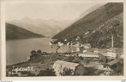 BOKA KOTORSKA LEPETANE CRNA GORA MONTENEGRO, PC, Circulated 1930 - Montenegro