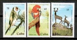 Cuba 1994 / Fauna Mammals Birds MNH Mamíferos Aves Vögel Säugetiere / Cu14032  C5-8 - Pájaros