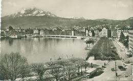 Luzern 1948; Luzern Mit Pilatus - Gelaufen. (Th. Rietschi - Luzern) - LU Lucerne