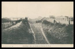 VALENÇA -ESTAÇÃO DOS CAMINHOS DE FERRO - Gare Da Estação Do Caminho De Ferro.( Ed. Joaquim Augusto Togo) Carte Postale - Viana Do Castelo