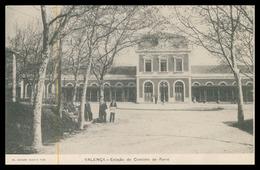 VALENÇA -ESTAÇÃO DOS CAMINHOS DE FERRO -Estação Do Caminho De Ferro.( Ed. Joaquim Augusto Togo) Carte Postale - Viana Do Castelo