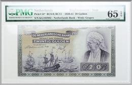 NETHERLANDS 50 GULDEN 1941 PICK #58 UNC RARE LQQK - [2] 1815-… : Reino De Países Bajos