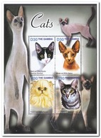 Gambia 2004, Postfris MNH, Cats - Gambia (1965-...)