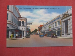 First Street  Fort Myers Florida   Ref    3588 - Fort Myers