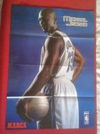 POSTER CARTEL DE BALONCESTO BASKETALL BASKET BALL PAU GASOL MICHAEL JORDAN Memphis Grizzlies NBA USA 69 CM X 50 CM VER F - Basketball - NBA