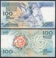 Portugal - 100 Escudos Banknote 24.11.1988 Pick 168 AU (1-)   (21895 - Portogallo