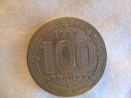 Afrique équatoriale: 100 Francs 1968 Pied-fort - Altri – Africa