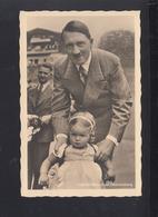 Dt. Reich AK Hitler Kleiner Besuch Auf Obersalzberg 1940 Gelaufen - Historische Persönlichkeiten