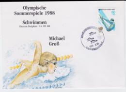 Corea Cover 1988 Seoul Olympic Games - Schwimmen Michael Gross (T4-39) - Ete 1988: Séoul