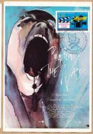 Cppub 164 PINK-FLOYD The WALL Affiche Film Cinéma Roger WATER Tampon 50e Festival International CANNES-PARIS 30-11-1996 - Affiches Sur Carte