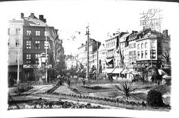 Liège - Place Du Roi Albert  (Lits Véritable Photographie 1941) - Liege