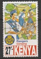 Kenya 1997 The 75th Anniversary Of Scout Movement In Kenya 27 Sh Multicoloured SW 732 O Used - Kenya (1963-...)
