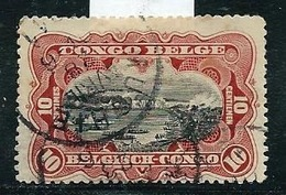 N° 65 (A 1c) Obl.  : MUSHIE - Belgisch-Kongo