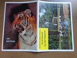 Zoo Wuppertal (foldertje) -> Zie Foto's - Animaux & Faune
