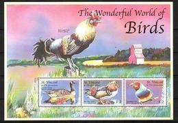 Saint Vincent Grenadines, 2001. [sav0105] Birds  (s\s) - Vögel