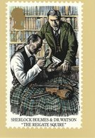 """Sherlock Holmes & Dr. Watson """"The Reigate Squire""""  Stamp 1993 - Stamps (pictures)"""