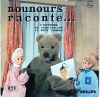 Nounours Raconte - 4 Histoires De Yang Chu Chu Le Petit Chinois - Philips 434.861 - - Musica Di Film