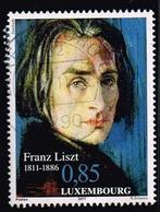 Luxemburg 2011,Michel# 1916 O  200. Geburtstag Von Franz Liszt - Luxembourg