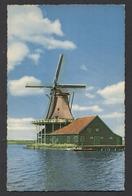 "Windmill - Mülle - Moulin - Molen ""De Kat"" 1960 Onderbouw 1781 Zaandam.- See The 2 Scans For Condition.(Originalscan ) - Windmühlen"