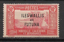 Wallis Et Futuna - 1930-38 - N°Yv. 57 - Case De Chef 90c - Neuf Luxe ** / MNH / Postfrisch - Wallis And Futuna