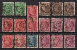 Ceres De Mazelin - Lot D'une Petite Selection D Obliterations - 1945-47 Cérès De Mazelin