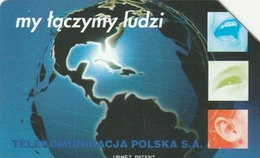 POLONIA. GLOBO TERRESTRE. We're Connecting People - 2. 50U. 43. (114) - Polonia