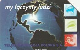POLONIA. GLOBO TERRESTRE. We're Connecting People - 5. 25U. 93. (115) - Polonia