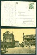 Yugoslavia 1954 Bahnpost Railway Mail Ambulance Post Maribor - Ljubljana 39 'a' Postcard Letter - Covers & Documents