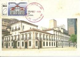 Carte Maximum - Brasil - Rio De Janeiro - Paço Imperial - Cartoline Maximum