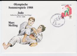 Corea Cover 1988 Seoul Olympic Games - Judo Marc Meiling (T4-38) - Ete 1988: Séoul