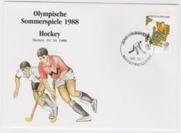 Corea Cover 1988 Seoul Olympic Games - Hockey Herren (T4-38) - Ete 1988: Séoul
