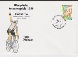 Corea Cover 1988 Seoul Olympic Games - Radfahren Jutta Niehaus (T4-38) - Summer 1988: Seoul