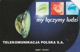 POLONIA. GLOBO TERRESTRE. We're Connecting People - 1. 50U. 42. (116) - Polonia