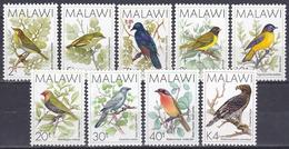 Malawi 1988 Tiere Fauna Animals Vögel Birds Oiseaux Aves Uccelli - Satz Nicht Komplett, Aus Mi. 501-6 ** - Malawi (1964-...)