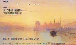 Télécarte Japon *   * PEINTURE FRANCE * ART (2421)  Japan * Phonecard * KUNST TK - Peinture