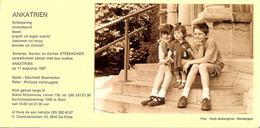 "Carte Photo De GENT / De PINTE "" ANKATRIEN "" STEENACKER . - Historical Documents"