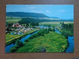Luxembourg / Bettendorf, Camping Au Bords De La Rivière --> Written (bit Damaged) - Diekirch