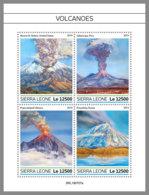 SIERRA LEONE 2019 MNH Volcanoes Vulkane Volcans M/S - IMPERFORATED - DH1934 - Volcans