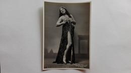"""1942 - Foto Di Cantanti D'Opera Al Teatro La Scala Di Milano - Mafalda Favero In """"Thais"""" - Opera"""