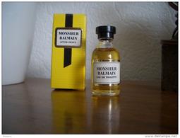 Miniature Balmain Monsieur EDT 7ml - Miniature Bottles (in Box)