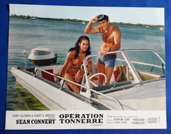"SEAN CONNERY Als JAMES BOND Im Kino-Film ""THUNDERBALL"" # Original Altes Kinoaushangfoto, Ca. 27 X 21 Cm # [19-427] - Fotos"