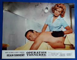 "SEAN CONNERY Als JAMES BOND Im Kino-Film ""THUNDERBALL"" # Original Altes Kinoaushangfoto, Ca. 27 X 21 Cm # [19-428] - Fotos"