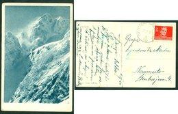 Yugoslavia 1954 Bahnpost Railway Mail Ambulance Post Maribor - Ljubljana 36 'a' Postcard Letter - Covers & Documents