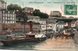 Dinard-la Cale G.F-bon état-colorisée - Dinard