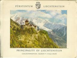 """Carnet De 10 Vues PRINCIPALITY Of LIECHTENSTEIN """" Fürstentum Liechtenstein """" - Liechtenstein"""