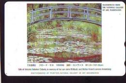 Télécarte Japon * NATIONAL GALLERY OF ART * PEINTURE FRANCE * ART (2426)  Japan * Phonecard * KUNST TK - Peinture