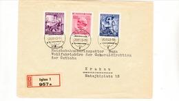 """Einschreibe  Brief """" Iglau """" Nach Krakau - Briefe U. Dokumente"""