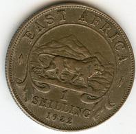 Afrique Orientale Britanique East Africa 1 Shilling 1922 KM 21 - Colonia Britannica